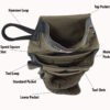 Diamondback product Wrangell tool belt pouch with attributes